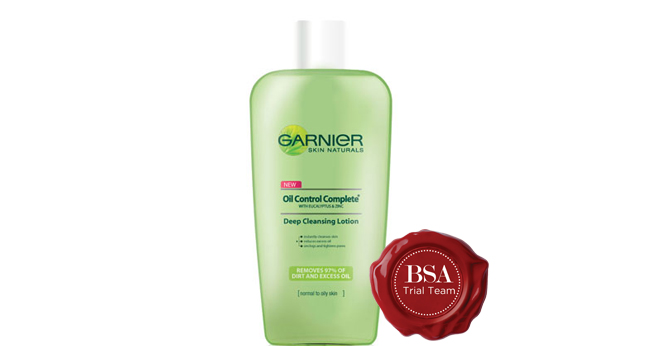 Garnier Oil Control Cleansing Lotion