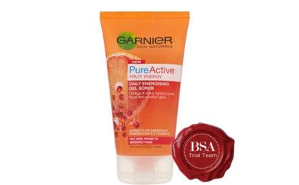 Garnier Fresh Radiance Boosting Scrub Trial Team