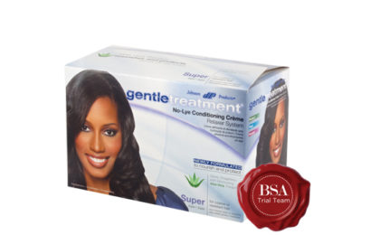 Gentle Treatment No-Lye Crème Relaxer Super Trial Team