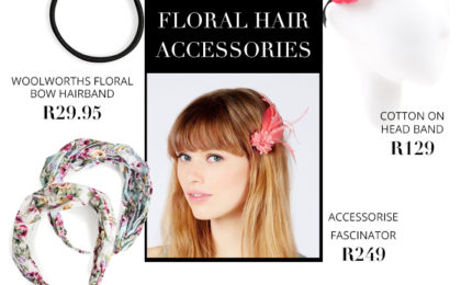 Four must-have spring floral hair accessories