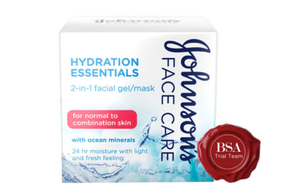 JOHNSON'S® Hydration Essentials 2-in-1 Facial Gel / Mask Trial Team