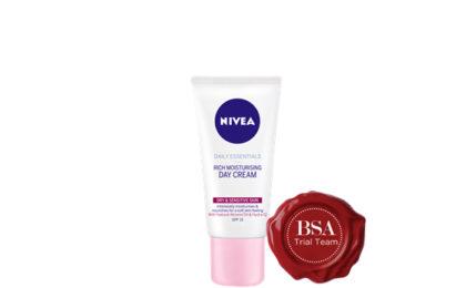 Nivea Daily Essentials Rich Moisturising Cream Trial Team