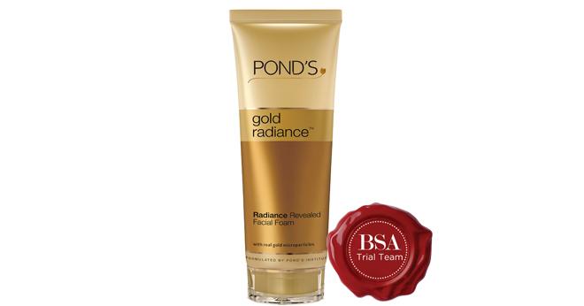 Pond's Gold Facial Foam