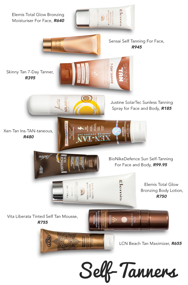 Self-tan-products