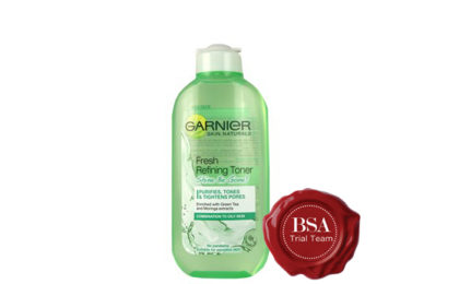 Garnier Fresh Refining Toner, Shine be Gone Trial Team