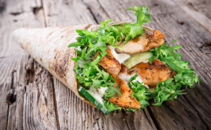 How to: Make Banting-friendly wraps