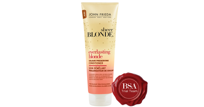 John Frieda SHEER BLONDE® EVERLASTING BLONDE COLOUR PRESERVING CONDITIONER