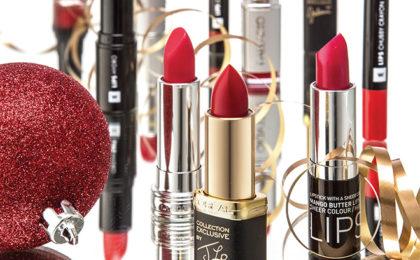 Fancy festive lips