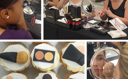 An evening of pampering with Smashbox