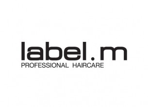 label m logo