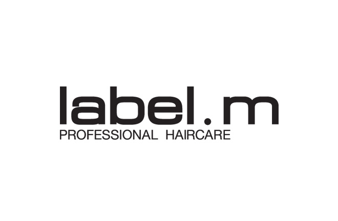 label m logo