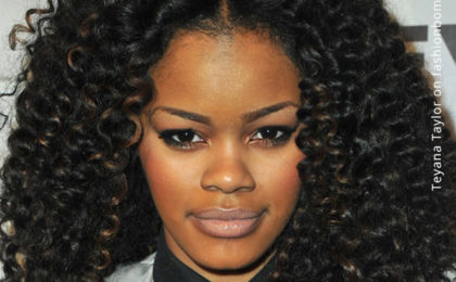 Create a party look with natural hair