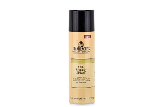 Dr Miracles Oil Sheen Spray
