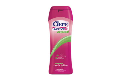 Clere Active For Her Body Lotion