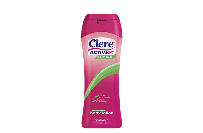Clere Active Body Lotion