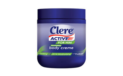 Clere Active for Him Body Crème