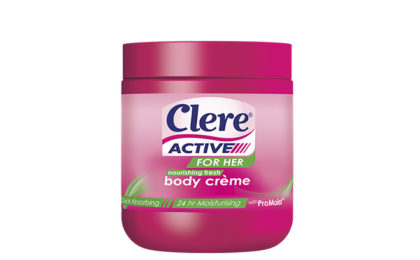 Clere Active for Her Body Crème