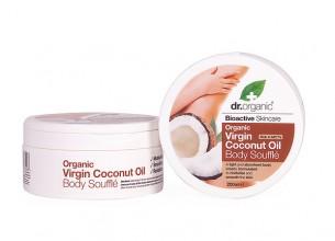 dr. organic Coconut Body Souffle