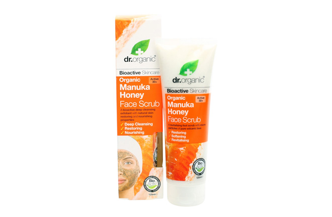 dr.organic Manuka Honey Face Scrub