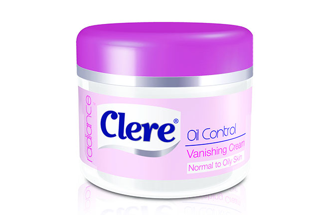 Clere Radiance Oil Control Vanishing Cream Normal to Oily