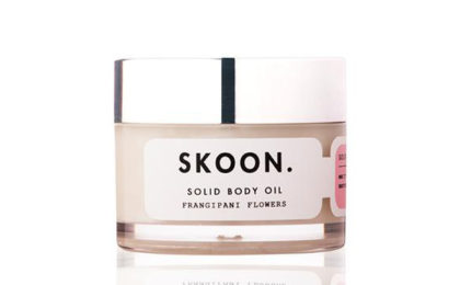 Skoon SOLID BODY OIL Frangipani Flowers
