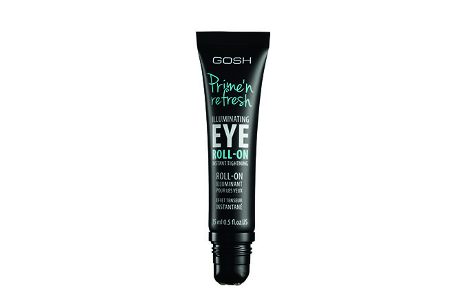 GOSH Prime'n Refresh Illuminating Eye Roll-On Primer