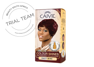Caivil Colour Shines Semi Permanent Colour System - Racy Wine
