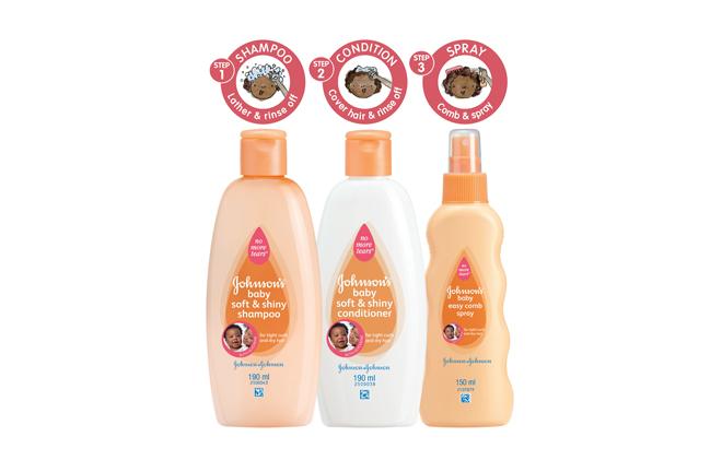 JOHNSON'S ® Baby Soft & Shiny Range