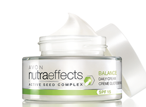 Avon Nutraeffects Balance Daily Cream SPF15