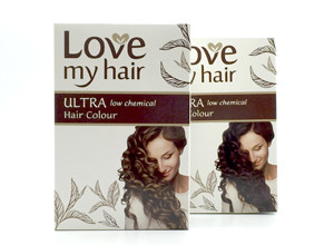 Love My Hair Ultra Low Chemical Hair Colour