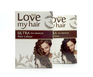 Love My Hair Ultra Low Chemical Hair Colour