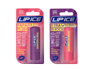 Lip Ice Shimmer Up Paparazzi Plum & Strawberry Shock