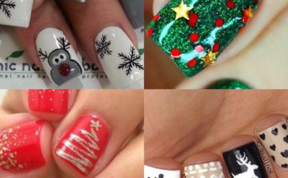 Festive nail inspiration