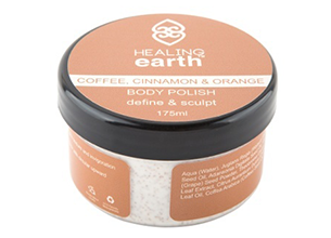 Healing Earth Coffee, Cinnamon & Orange Body Polish