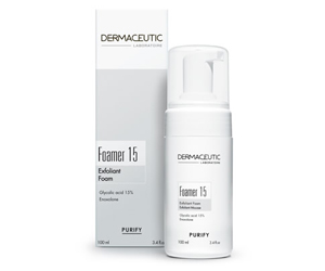 Dermaceutic Foamer 15 Exfoliating Cleansing foam