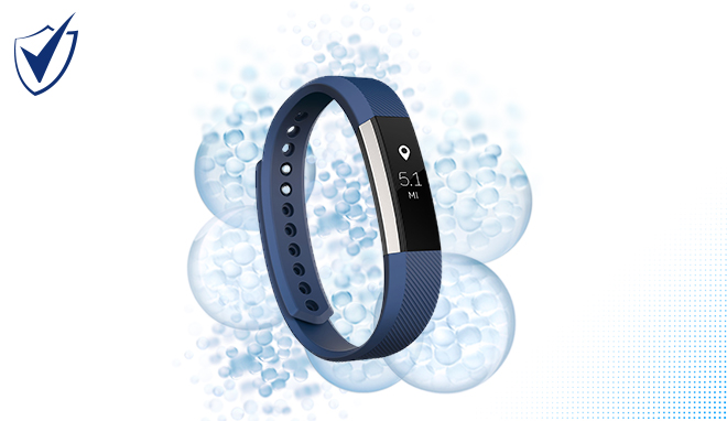 Win a fitness watch WITH SHIELD MOTIONSENSE™