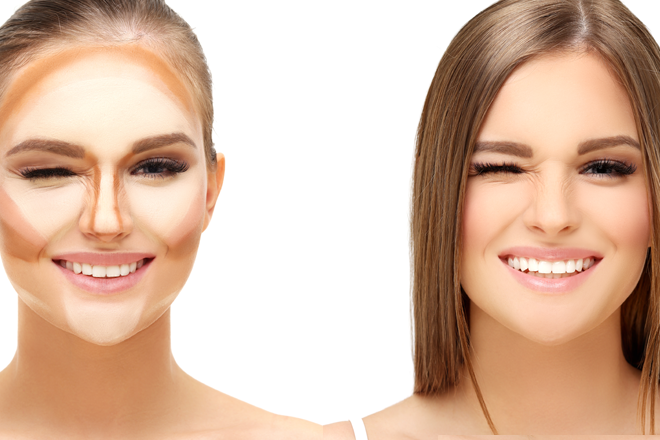 CONTOUR FOR THE SHAPE OF YOUR FACE