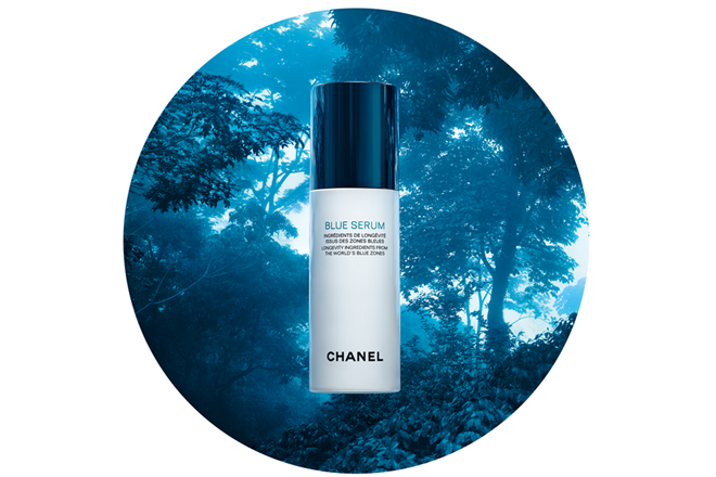 Chanel ventures into the blue 1