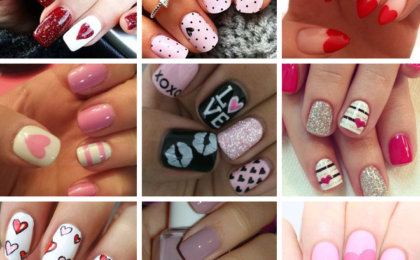 Valentine's Day nail art inspiration
