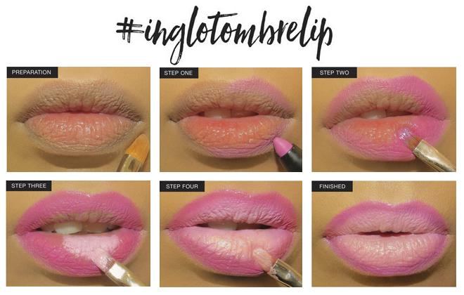 Ombré lips: Get the look 6