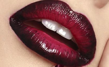Ombré lips: Get the look