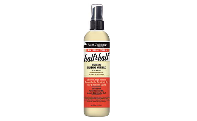 Aunt Jackie's Flaxseed Half & Half Hydrating Silkening Hair Milk