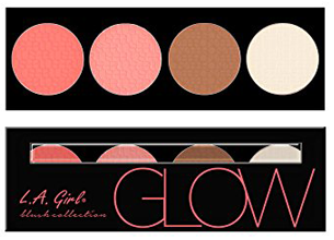 L.A Girl Glow Blush Collection