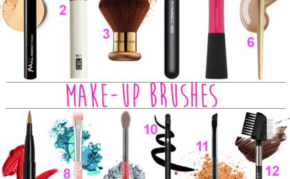 Decode make-up brushes