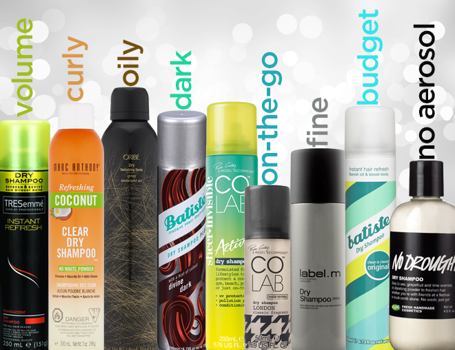 Pick the best dry shampoo for your hair 2