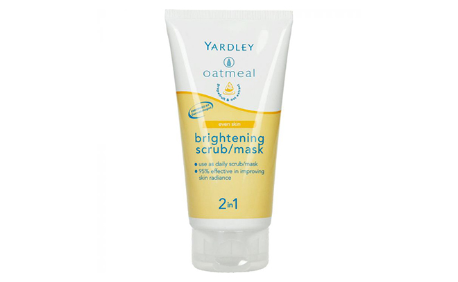 Yardley Oatmeal Brightening Scrub/Mask