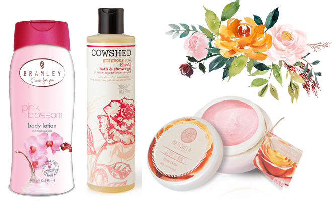 These are the body products we'll be using this spring 2