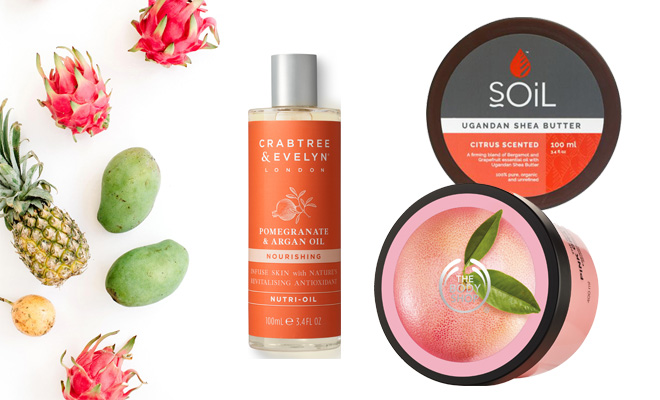 These are the body products we'll be using this spring 3