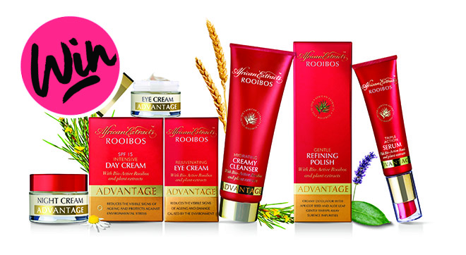Win an African Extracts Advantage skincare hamper 1