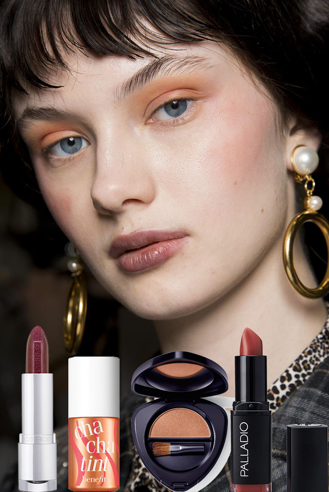 Wearable Autumn makeup trends straight from the runway 2